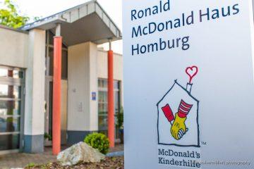 Eingang Ronald McDonald Haus Homburg